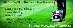 Lawn Father provides the lawn care services in Calgary for the last four years. Our services are effective and fast for residential and commercial lawn caring and yard maintenance. Call us, we would feel happy to provide you a free estimate.