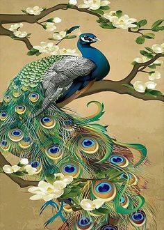 Details on canvas embroidery 14 or 18 include _ abstract art, needle points . - Details of canvas embroidery 14 or 18 count _ Abstract art, needle points, Peacock Bird- Show title - Peacock Wall Art, Peacock Painting, Peacock Bird, Peacock Drawing, Peacock Tattoo, Peacock Colors, Peacock Feathers, Peacock Design, Peacock Canvas