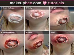 Step-By-Step Tutorial for Exposed Chin....cool concept but I would add more to it.