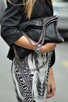 Stella McCartney i neeed to have this bag. perfection