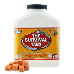 S.O.S. Rations Emergency Food Ration Survival Tabs- 15 Day Package Gluten Free and Non-GMO 25 Years Shelf Life (180 Tabs - Butterscotch) * You can find more details here : Camping equipment