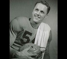 Bruce Smith, 1941 Heisman Trophy Winner from Faribault MN. Go Gophers!