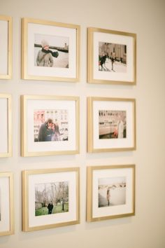 Style At Home: Jordana Hazel | theglitterguide.com Sweet Memories, Gallery Wall