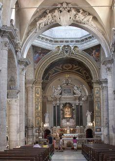 Santa Maria del Popolo - Rome, Italy - Main Altar
