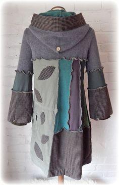 SCIURUS Squirrel Elvish Leaf Folk Jumper Sweater Dress Snood
