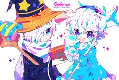 쿠키런 최애+차애 눈설탕맛쿠키랑 마법사맛 쿠키 ^-^// Cartoon Games, Cartoon Art, Cookie Run, Manga Comics, Anime Chibi, Beautiful Artwork, Anime Couples, Game Art, Manga