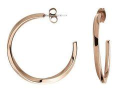 Calvin Klein náušnice Exclusive KJ0KPE100100 - online zlatnictví, kamenná prodejna od roku 1947, výrobci a prodejci šperků, klenotů a hodinek.