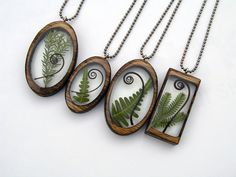 Resin and wood pendants by BuildWithWood on Etsy