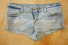 Topshop Denim Shorts £15
