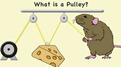 One answer is to use a pulley. A pulley is a simple machine. In this original KET interactive, children learn about the basic workings of three simple machines. Grade 2 Science, Stem Science, Science Experiments Kids, Physical Science, Science For Kids, Science Activities, Science Ideas, Pulleys And Gears, Stem Projects For Kids