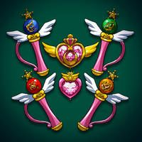 Sailor Pluto from Sailor Moon Crystal Sailor Pluto, Sailor Jupiter, Sailor Venus, Sailor Mars, Sailor Moon Wands, Sailor Moon Art, Sailor Moon Crystal, Sailor Scouts, Manga Art