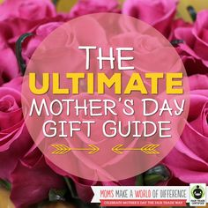 "The cure for ""I don't know what to give mom!"" The TOP 15 #FairTrade Mother's Day Gifts are here: http://fairtrd.us/1Epf2Vc Tell us: What would you like to give (or receive!) this year? #FairMoms #MothersDay"