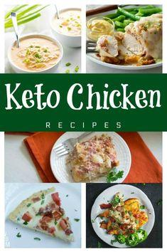 Keto Chicken Recipes the whole family will love. #lowcarb #keto #ketorecipe