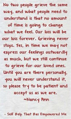On grieving  ............................................................................................................................................................................................................................................................................... grief: http://4-my-best-life.blogspot.com.au/2013/03/grief-loosing-someone-close.html
