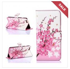 Plum Blossoms Leather Case Cover for iPhone 6 Plus / iPhone 6 is designed to protect your new iPhone 6 from everyday bumps and scratches while keeping your device looking new.