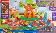 Toy that has given us the most play time with both kids - Fisher Price Little People A to Z Learning Zoo Playset