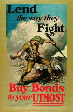 WW1 War Bonds Poster