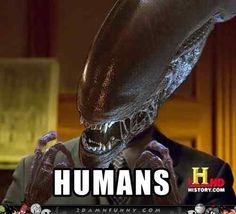 Funny ancient aliens memes featuring that guy from the History Channel Ancient Aliens Meme, Art Alien, Best Memes, Funny Memes, Movie Memes, True Memes, Non Plus Ultra, Aliens Movie, Aliens Guy
