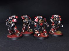 Can someone help me identify the author of this glorious SM color scheme? : Warhammer40k