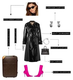 """The Valentine's Day at airport, fleeing of paparazzi! Outfit #3️⃣"" by fashionforblog on Polyvore featuring Louis Vuitton"