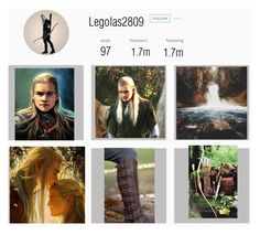 """""""If Legolas had an Instagram"""" by selah1104 ❤ liked on Polyvore featuring art"""