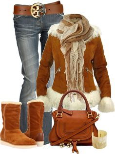"""""""Ready for the Cold!"""" by johnna-cameron on Polyvore"""