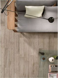 "NOTE:  wood-LOOK porcelain TILE*****  Must use a 1/16"" grout line and UNsanded grout.   Use a grout that totally matches the tile (darker than kitchen grout!!)  Post about tile 'wood' at Centsational Girl"