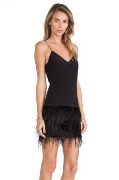 SAYLOR Mia Dress in Black | REVOLVE