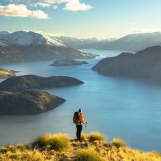 Repeat after us: TGIF! Here's a little weekend getaway inspiration from photographer @chrisburkard. His New Zealand packing list is up now on jcrew.com/blog – plus his gorgeous photos of Lake Wanaka. Permission to #wanderlust…
