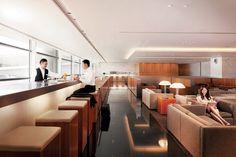 Cathay Pacific's The Pier business class lounge at Hong Kong International Airport. #CXAmbassador [ad]