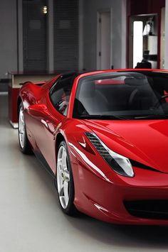 Ferrari 458 Spider----> Want more? Follow me at http://www.pinterest.com/TruckSchoolInfo/