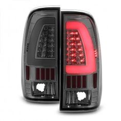 Xtune 1997 2007 F2 3 4 550 Led Tail Lights W Signal Function Smoked