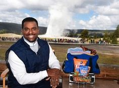Alfonso Ribiero and Chex Mix