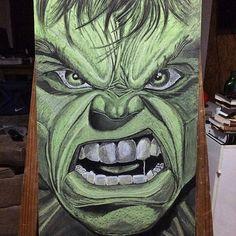 Arte em lousa por @clebcoli @clebcoliprojetos   Aniversário Tema: Hulk.    #atteemlousaporclebcoli #arteemlousa #hulk #emminhafesta #lettering