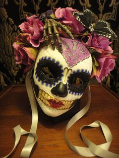 Reach for the Heart  Day of the Dead Hand and by HikariDesign, $125.00