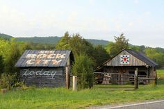 These Old Barns Was Seen Every Where......Back in the day! See Rock City Today