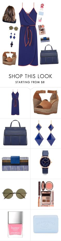 """""""summer look"""" by candynena228 ❤ liked on Polyvore featuring Tory Burch, Stuart Weitzman, Marie Hélène de Taillac, FOSSIL, Marc Jacobs, Victoria Beckham, Charlotte Tilbury and Pré de Provence"""