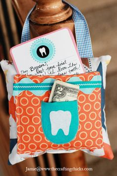{Tooth Fairy Stationery + Free Printable} leave outside the door no more sneaking in.