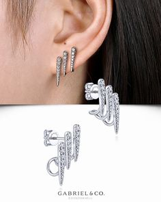 the cost-effective individuals guide to shopping for jewelry Latest Jewellery Trends, Jewelry Trends, Jewelry Accessories, Jewelry Design, Fashion Earrings, Women's Earrings, Diamond Earrings, Fashion Jewelry, Aquamarine Jewelry