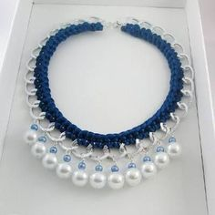 Pearl necklace from LC.Pandahall.com