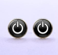 Probably the coolest geekiest cufflinks ever. i  love it!