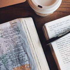 https://www.instagram.com/beautiefullthings/ #shereadstruth #bible #coffee