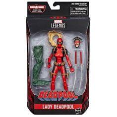 Lady Deadpool, Marvel Legends Deadpool, Marvel Legends Figures, Deadpool Action Figure, Hasbro Marvel Legends, Marvel Legends Series, Marvel Comic Character, Marvel Characters, Omega Red