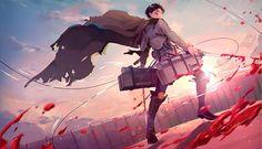 HD wallpaper: Anime, Attack On Titan, Levi Ackerman