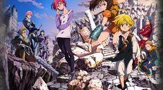 'The Seven Deadly Sins' Season 2 Release Date On Netflix Anime: 'Nanatsu No Taizai: Imashime no Fukkats' Trailer, Movie Confirmed [Manga Spoilers] Seven Deadly Sins Anime, 7 Deadly Sins, Top Anime, Manga Anime, Otaku Anime, Fall Out Boy, Meliodas Brother, Best Anime On Netflix, Sir Meliodas