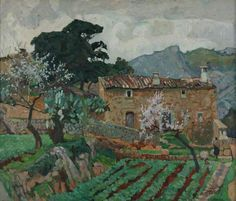 John Anthony Park - Spring in Mallorca, 1934