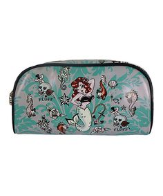 Look at this Fluff Molly Mermaid Crescent Cosmetic Bag on  zulily today!  Tattoo Cream 7945980de08e3