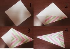 折り紙を1枚つかって、大きめガーランド! 必要なものは折り紙・糸・セロハンテープのみ! &nbs…