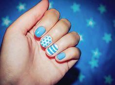 cool Простые узоры на ногтях для начинающих (50 фото) — Пошаговые инструкции Читай больше http://avrorra.com/prostye-uzory-na-nogtjah-dlja-nachinajushhih-pojetapno-foto/