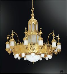Ottoman Zeinab Grand Empire, Beacon Lighting, Ancient China, Antique Furniture, Lamp Light, Oriental, Ottoman, Chandeliers, Ceiling Lights